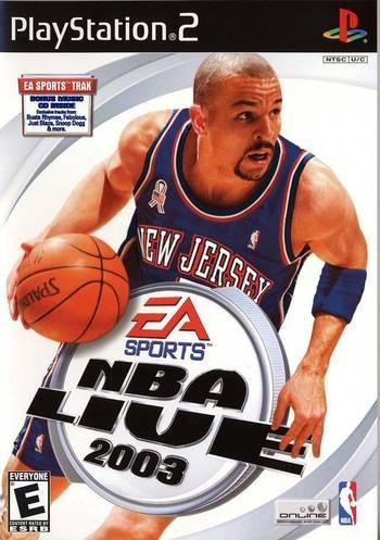 NBA Live 2003 For PlayStation 2 PS2 Basketball