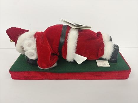 Gemmy Legends of Old St. Nick Push Up Santa Figure