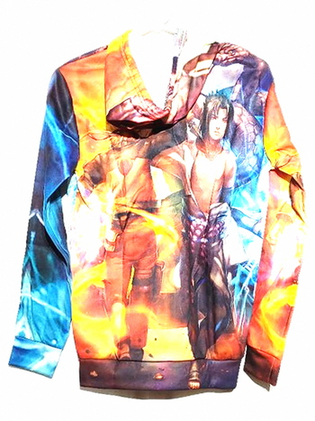 New With Tags Unisex Anime Printed Graphic Hoodie Size S
