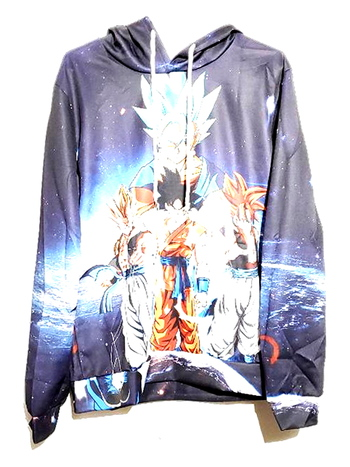 New Unisex Anime Printed Graphic Hoodie Size XL