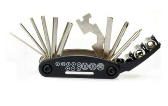 16 in 1 Portable Bike Repair Tool Set