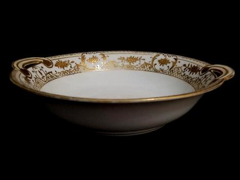 Antique Nippon Japan Hand Painted Porcelain Bowl