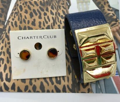 Designer Jewelry  Liquidation From Major Department Store 2 Pieces Retail $59