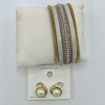 Designer Jewelry  Liquidation From Major Department Store 2 Pieces Retail $68