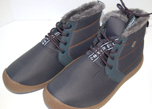 Men's Rubber Toe Boots Blue Size 9