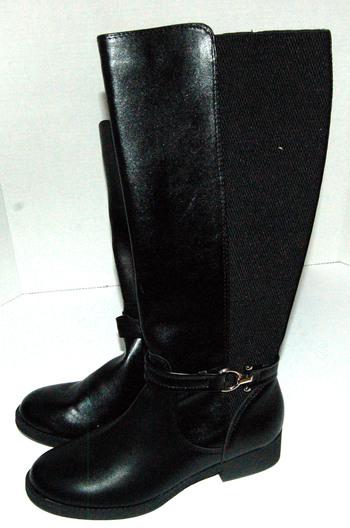 Women's Ryder Boots Black Size 7