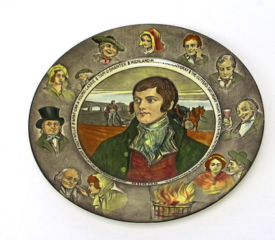 Royal Doulton Vintage Robert Burns Commemorative Collector Plate