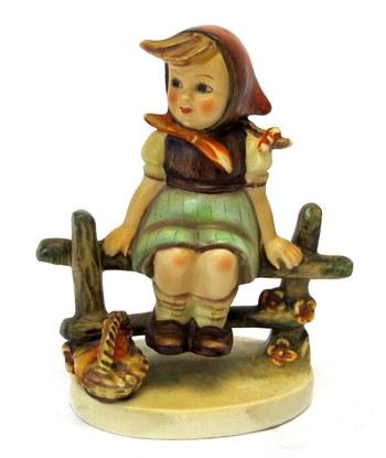 "Hummel by W. Goebel Figurine ""Just Resting""- Circa 1938"