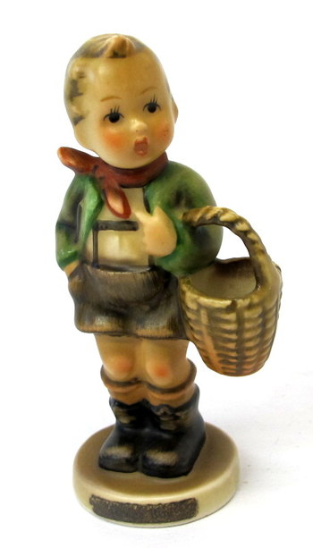"""Hummel by W. Goebel Figurine """"Village Boy"""""""