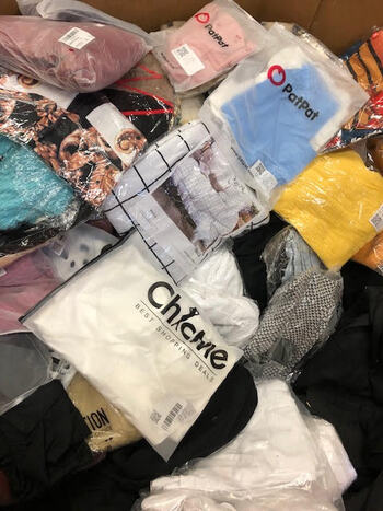 50 New Clothing Assorted All New