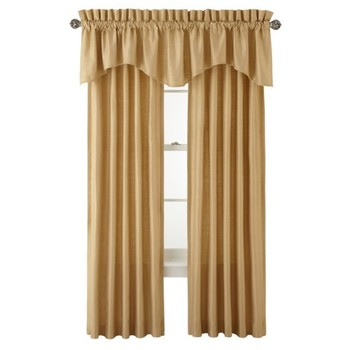 Royal Velvet® Supreme Pinch-Pleat/Back-Tab Lined Curtain Panel - Retail $74.99
