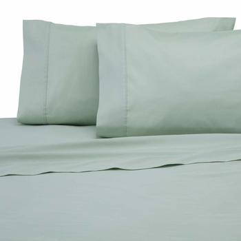 Modern Living 300 Thread Count Sheet Set, Queen, Light Sage 100% Cotton