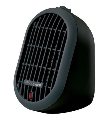 Honeywell HCE100B Heat Bud Ceramic Heater, Black