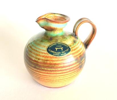 LLANGOLLEN Pottery Vintage Original  Mini Pitcher
