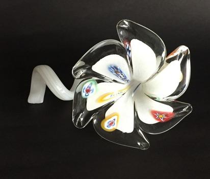 Vintage Murano Glass Flower