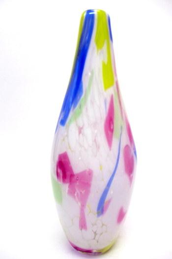 Vintage Murano Flower Vase 1950's