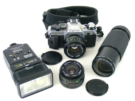 Canon AE-1 Program Camera & Kit