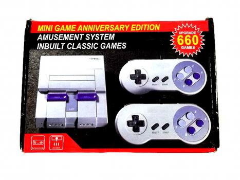 Retro Classic Mini Edition Super Consile TV Game Built in 660 Games