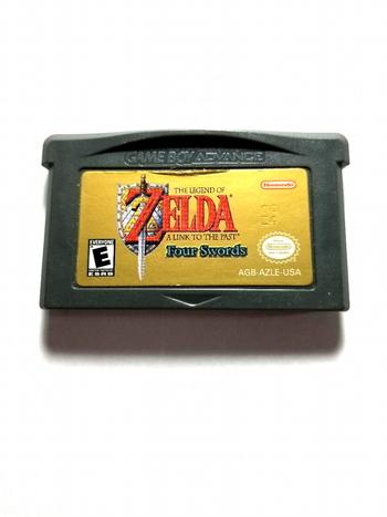 Zelda Four Swords Nintendo Gameboy Advance GBA Cart