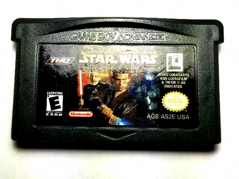 Star Wars Episode II Attack of the Clones Nintendo GameBoy Advance