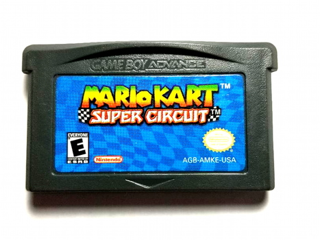 Mario Kart Super Circuit Nintendo Game BoyAdvance