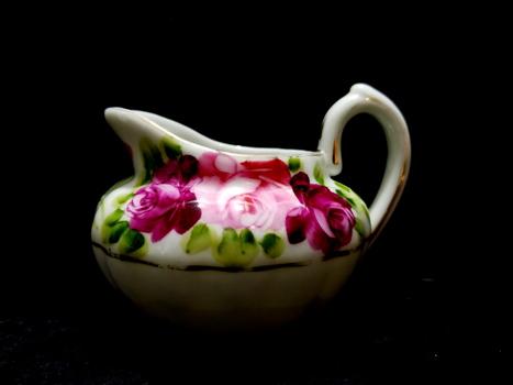 Antique Nippon Fine Bone China Creamer