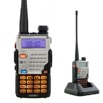 BAOFENG Dual Band Two Way Radio Walkie Talkie