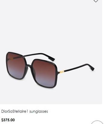 Women's Dior Sunglasses Italy $375.00
