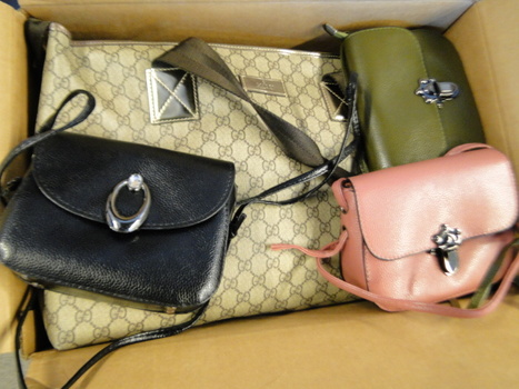 Unclaimed Box from Storage Locker- Gucci