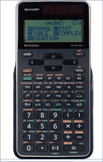Sharp NEW EL-W516 Scientific Calculator
