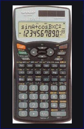 Sharp NEW EL-546W Scientific Calculator