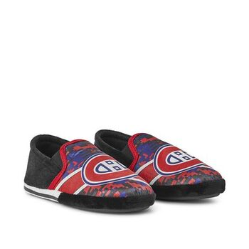 Boys' Montreal Canadiens Slippers Kids Size 13-1