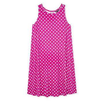 Maternity Swing Dress Pink Size S