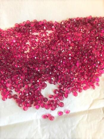 Swarovski c1969 7200 Pieces Ruby