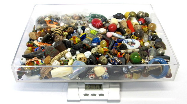 Over 7 Pounds of Vintage Assorted Beads  for Creating Jewelry