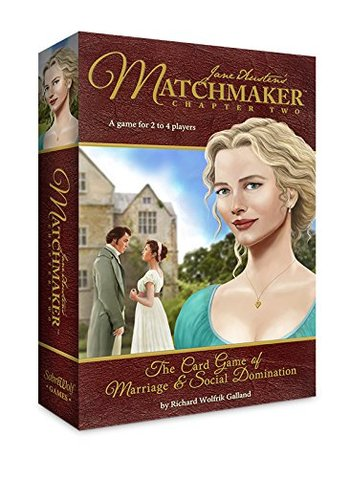 Sabrewolf Games Jane Austen's Matchmaker Chapter Two Board Game