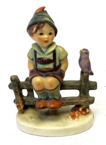 """Vintage Hummel Figurine """"Wayside Harmony"""""""