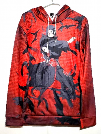 New With Tags Unisex Anime Graphics Hoodie Size XL