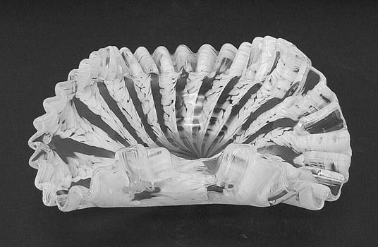 Vintage Murano Art Glass Centerpiece Candy Dish