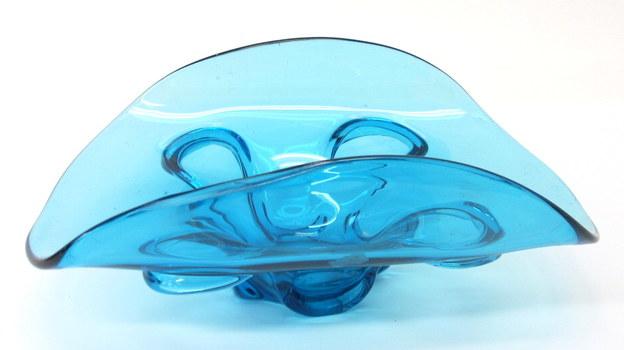 Vintage Murano Art Glass Centerpiece Bowl