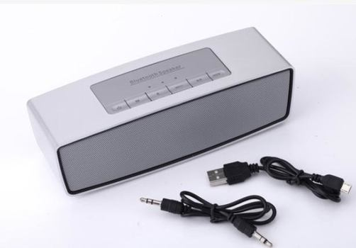 Sound Portable  Mini Bluetooth Speaker Wireless Bluetooth Stereo  Silver