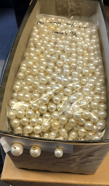 Unclaimed Cargo from the 1960's to 1970's Glass Pearls