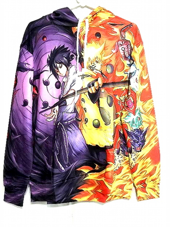 Unisex 3D Print Graphics Anime Hoodie Size L