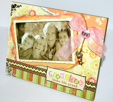 Picture Frame for Grandparents Beautifully Crafted