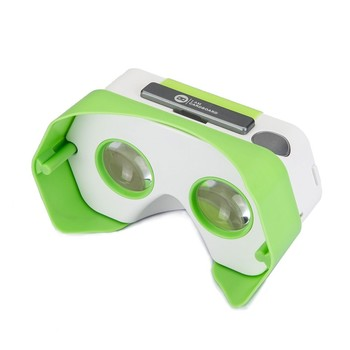 VR Headset For Smartphones - Green Works For Androids And iOS Phones