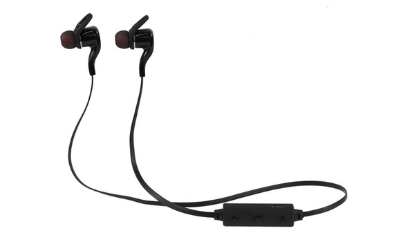 iRola Streamlined Sport Wireless Earphones with Noise-Cancelling Microphone
