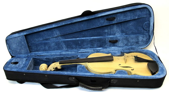 Hand Made Violin with Hard Case