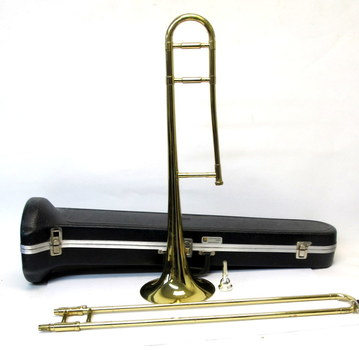 Holton TR602 Trombone with Long & McQuade Hard Case