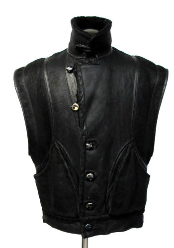 Vintage Men's Shearling Vest- Size M/L