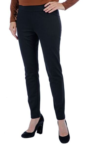Mr. Max Hollywood Slim Leg Pant, Colour: Black, Size: 2X, Retail: $79.99